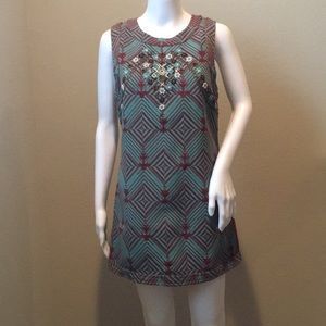 Bohemian Shift Dress